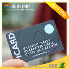 Manufacturer price Standard size plastic pvc id card with hologram card