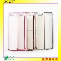 New design Plating TPU Case mobile phone cover Soft for Apple 6G