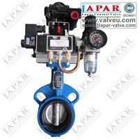 Motorized Butterfly valve electric butterfly valve Italy Design