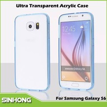 Ultra Thin 0.3mm Thickness Tranparent Acrylic GALAXY S6 Case