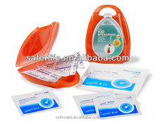 2014 wholesale custom multicolor mini plaster kid bite&sting kit gift present promotion Private label first aid kit
