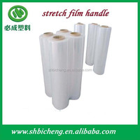 Plastic jumbo roll clear stretch film for food and beverage protection
