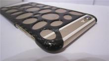 Luxury carbon fiber black hole case for cell phone accessory, carbon fiber case,for apple iPhone 5S slide phone case