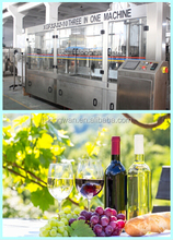 grape plastic wine glass/mango wine/cherry wine filling machine