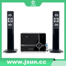 Multimedia 2.1 Speaker With Usb/Sd/Fm/Remote Control