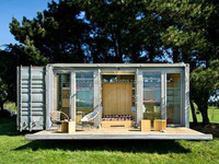 pre-fabricated house/ expandable container house for sale/ 40ft shipping container house
