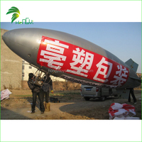 High Quality Custom Giant RC Promotion Inflatable Zepplin Airship Blimp