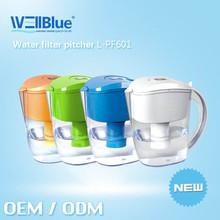 WellBlue Anti-oxidant water mineral jug high pH water filter jug