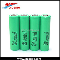 High capacity 18650 35A 2500mah green SAMSUNG INR18650 25R Battery Rechargeable Li-ion Battery VS VTC5