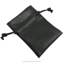 Packaging bags small leather jewelry pouch