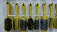 plastic hair brush set , hair brush with spray pump in ningbo