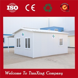 High construction efficiency easy assembly high quality two-storey prefab house for sale