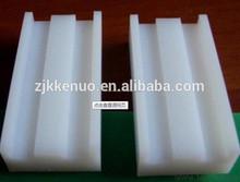 Mecanizado procesado UHMWPE guía de la cadena, plástico carril de guía, de color lámina de plástico