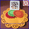 Cheap coffee cup mats with good quality