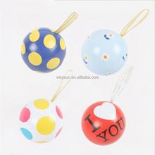 26-36 Colorful Christmas Tin plate Ball Fashion Gift Christmas Decorations for Trees