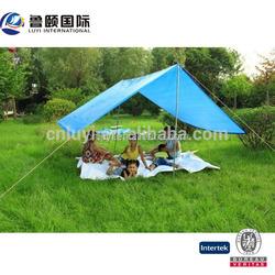 pe tarpaulin simple tent for camping