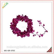 2015 la fiesta de boda garland decoración de la cinta para coronas de flores