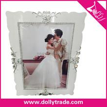 Marco de fotos blanco plata diseño, tablero de papel Photo Frame 110 * 80 cm