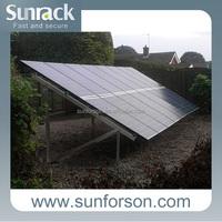 fast installed pv solar bracket frames, slate ground solar mounting