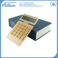 aluminum calculator gold for promotion FS-2153