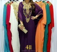 DUBAI LOVELY KAFTAN TRENDY FARASHA PARTYWEAR KAFTAN CHIFFON CAFTAN jalabia Kaftan new fashion Wholesale muslim women k553
