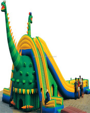 gaint Commercial jungle inflatable castle/backyard inflatable jumper/animal inflatable bouncers