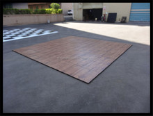PVC Dance Floors with Wood Look Alike Colored Surface