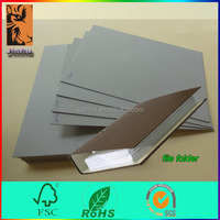 High stiffness cardboard sheets recycled grey paper straw board