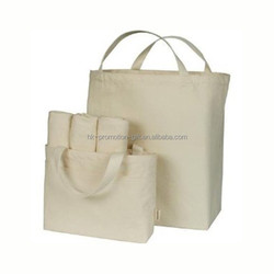 reusable cotton shopping bags/cotton canvas tote bag/blank cotton tote bags