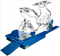 2 wheels motorcycle dynamometer for vehicles testing system