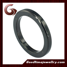 unique fashion male black plated rings trendy ring fashion for male and female