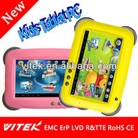 New product Android Dual Core Child Learning Kids 7 inch Tablet case