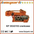 proffessional herramientas de jardinería kingpark piezas para 353 2153 del cárter del motor para motosierra