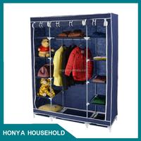 2015 hot selling folding wardrobe sliding wheels