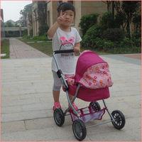 2014 brasil world cup orange color lovely baby doll stroller toy