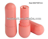 Peanut-shaped lipstick container
