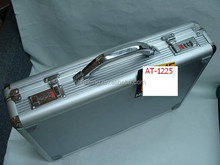 hot sale silver aluminum document briefcase