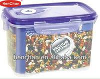 PP dry food storage box vacuum container