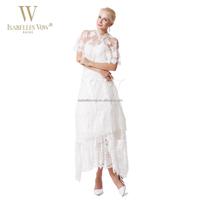 Elegant wholesale ankle length sweetheart bolero jacket crystal beaded wedding dress