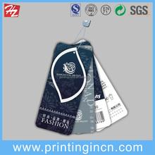 Professinal Die-Cutting Screen Printing Paper Hang Tag