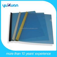 plastic transparent slide grip report cover file folder /book cover