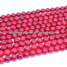 Red Coral Gemstone Beads Wholesale