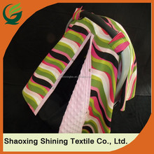Good sell Carseat Canopy Minky Chevron Blanket Cover Change Facing Color