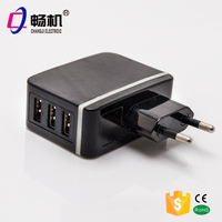 5V 3A 3 USB ports mobile phone charger | usb travel charger
