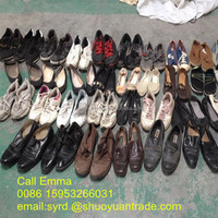Fashion used shoes wholesale in spain