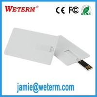 advertising promotion gadgets low price 2gb business card usb