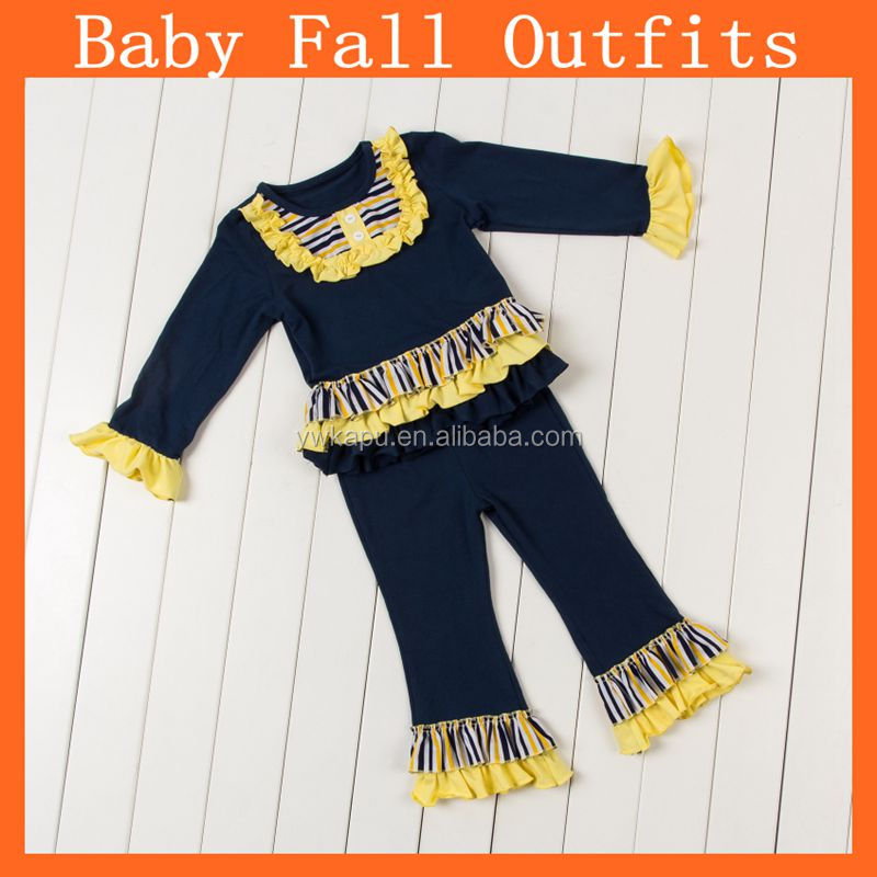Wholesale Children Clothing Usa Ruffle Fall Outfit Lovely ...