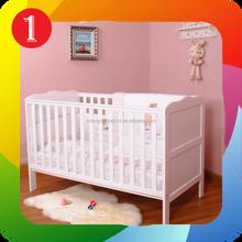 Euro UK classic wood baby bed,baby cot,baby crib