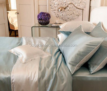 Most popular Two color 100% Mulberry Silk Pillowcase Double-color Silk Bedding Sheets