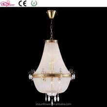 moroccan lighting white swan ,iron crystal chandelier raindrop, hanging light